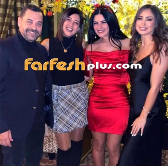 فيديو وصور: نيكول سعفان ترد على زواج أصالة بالاحتفال مع طارق العريان صورة رقم 9