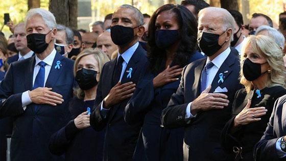 بالصور: الولايات المتحدة تحيي ذكرى هجمات 11 سبتمبر بالصمت والدموع صورة رقم 6
