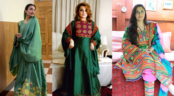 بالصور: ملابس ملونة وتقليدية رائعة.. الأفغانيات يتحدين نساء طالبان! صورة رقم 14