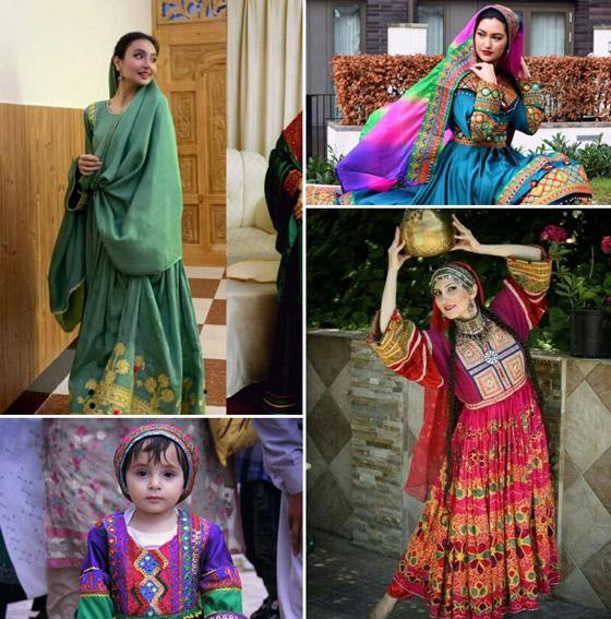 بالصور: ملابس ملونة وتقليدية رائعة.. الأفغانيات يتحدين نساء طالبان! صورة رقم 15