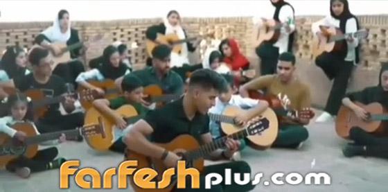 اعتقال فرقة موسيقية في إيران.. والسبب تصوير
