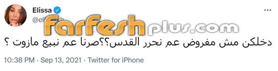 إليسا تسخر من إعلان حسن نصرالله عن بيع المازوت الإيراني: مش مفروض عم نحرر القدس؟ صورة رقم 1