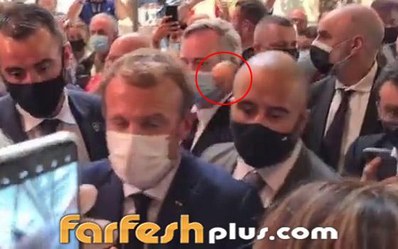 بالفيديو: الاعتداء على الرئيس الفرنسي ماكرون ورشقه بالبيض! صورة رقم 2