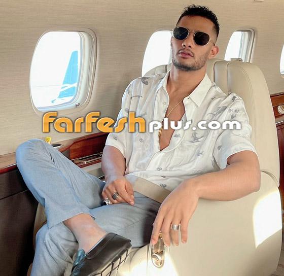 فيديو: محمد رمضان يرقص مع مضيفتي طيران داخل الطائرة.. ويعلق: المضيفة الفرفوشة صورة رقم 14