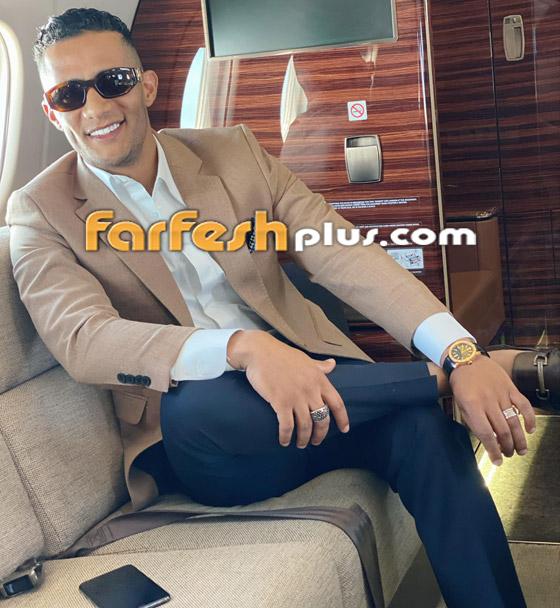 فيديو: محمد رمضان يرقص مع مضيفتي طيران داخل الطائرة.. ويعلق: المضيفة الفرفوشة صورة رقم 18