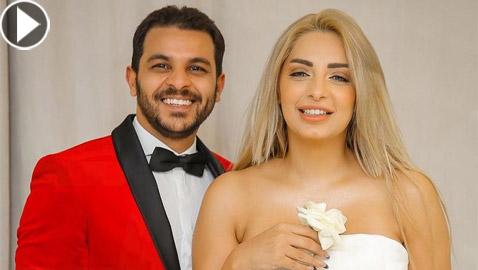 فيديو مي حلمي تبكي وتكشف تفاصيل خيانة محمد رشاد لها وضربه لها واجهاضها!