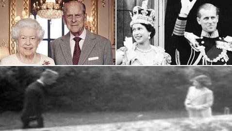 بالصور: أول لقاء للأمير فيليب بالأميرة (الملكة) إليزابيث قبل 82 سنة