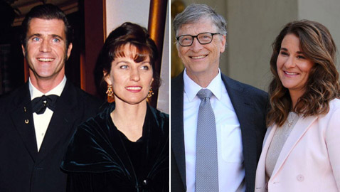 أغلى حالات الطلاق بين المشاهير بمليارات الدولارات.. آخرها بيل جيتس وميليندا