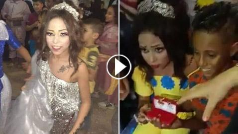فيديو خطوبة طفلين (12 عاما) يصدم المصريين والسلطات تقبض على الوالدين