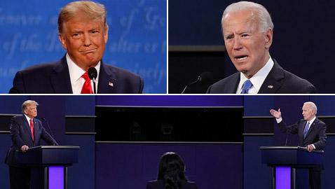 لا فائز ولا خاسر.. ترامب وبايدن يشتبكان في آخر مناظرة رئاسية